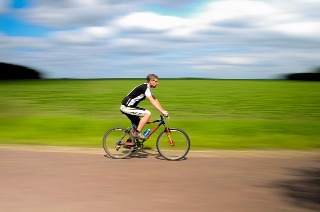 veselý cyklista